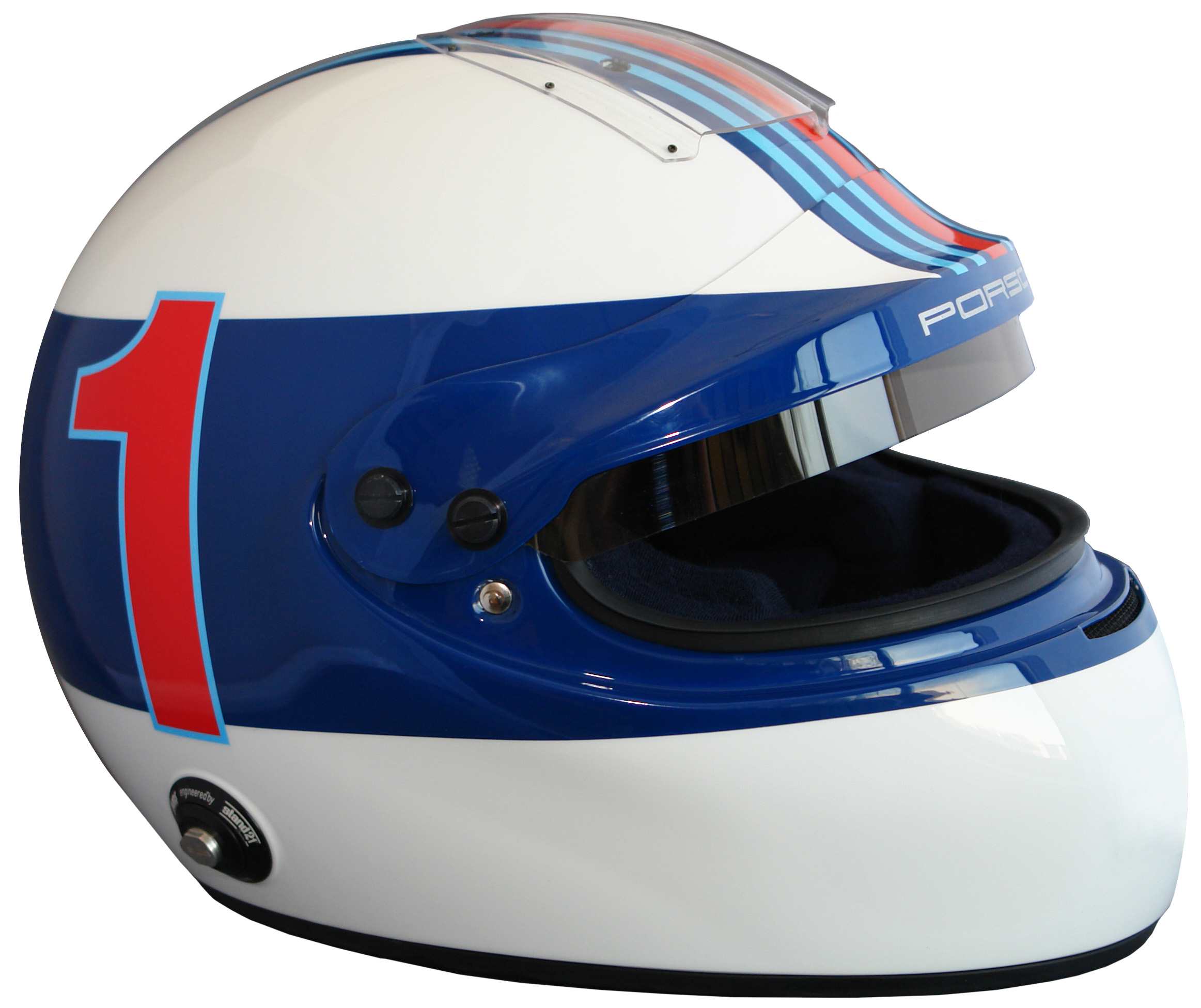 Casque IVOS-Double Adaptation Porsche Vintage